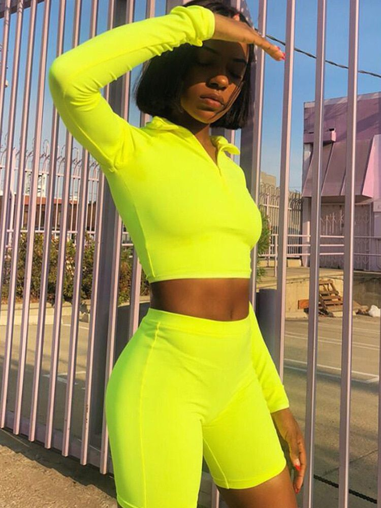2019 Summer Tracksuits Sets Women Suits Fashion Solid 3-colors Regular Long Sleeve Sexy Club V-neck Women Suit Costume