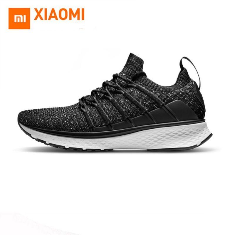 In Stock Xiaomi Mijia smart Sports 2 Uni-Mould Techinique New Fishbone Lock System Elastic Knitting Vamp