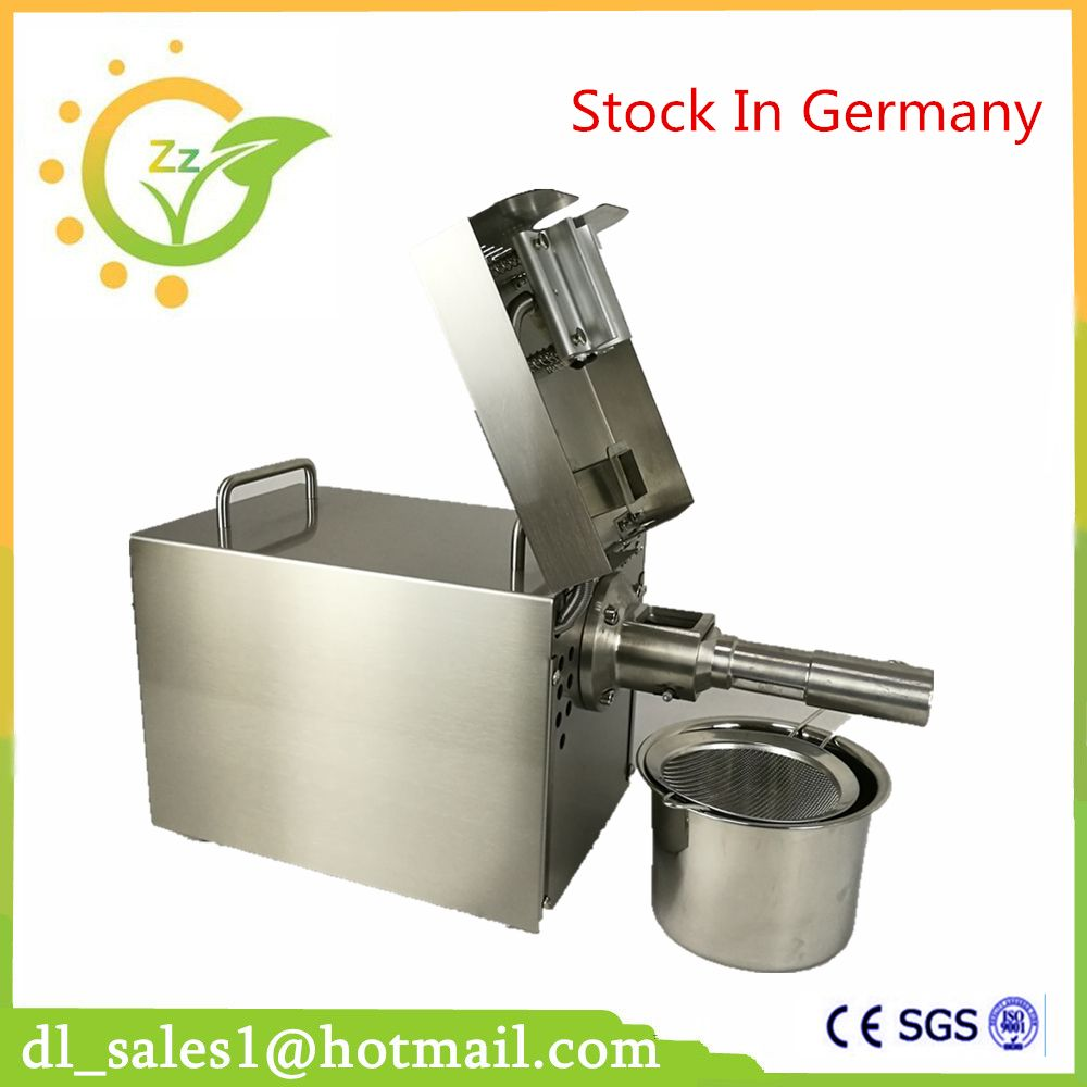 Household Oil Press Machine Cold Hot Press For Peanut Small Home Automatic Mini Seed Oil Extraction Machine EU Stock