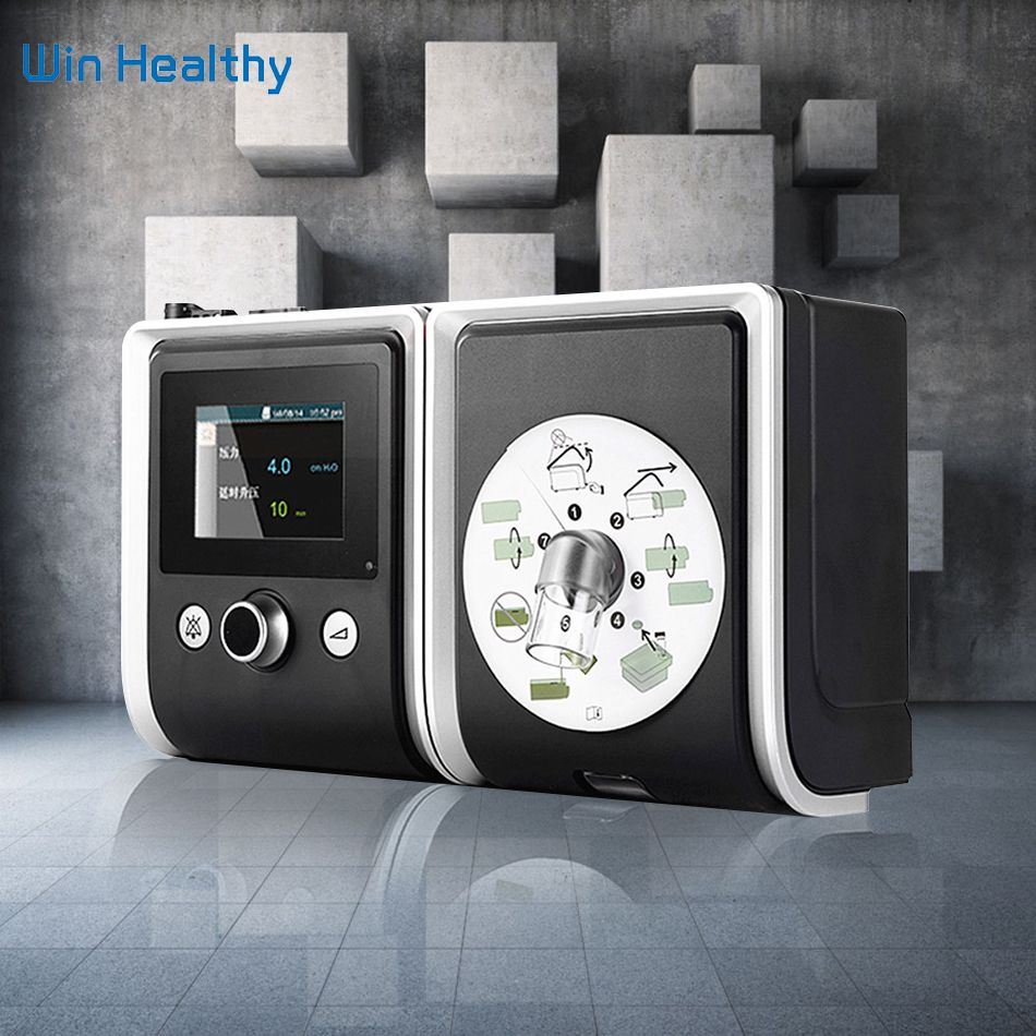 BMC GII CPAP Device Portable Quiet Respirator With Nasal Mask Humidifier Filter Plastic Hose Bag The Best Sleep Snoring Solution