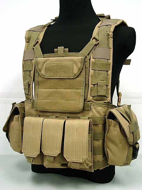Airsoft Molle Canteen Trinkkampf RRV Weste Coyote Brown BK OD Multi Camo