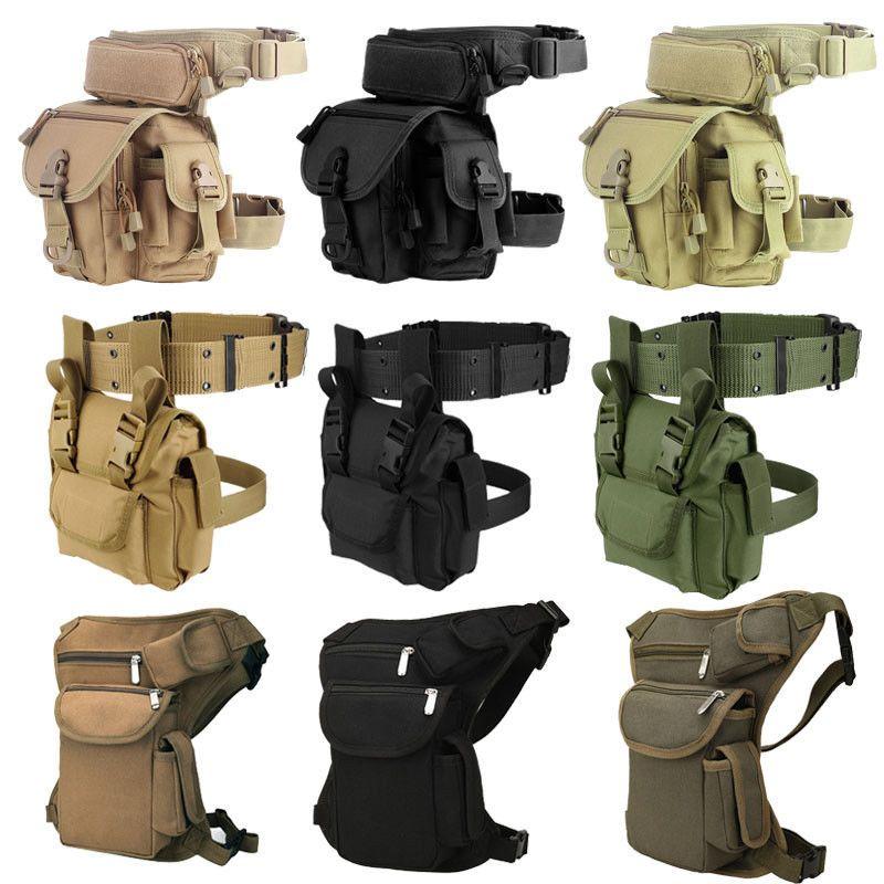 1000D Nylon Molle jambe sac militaire tactique taille Pack jambe voyage ceinture sac randonnée chasse Camping cyclisme étanche