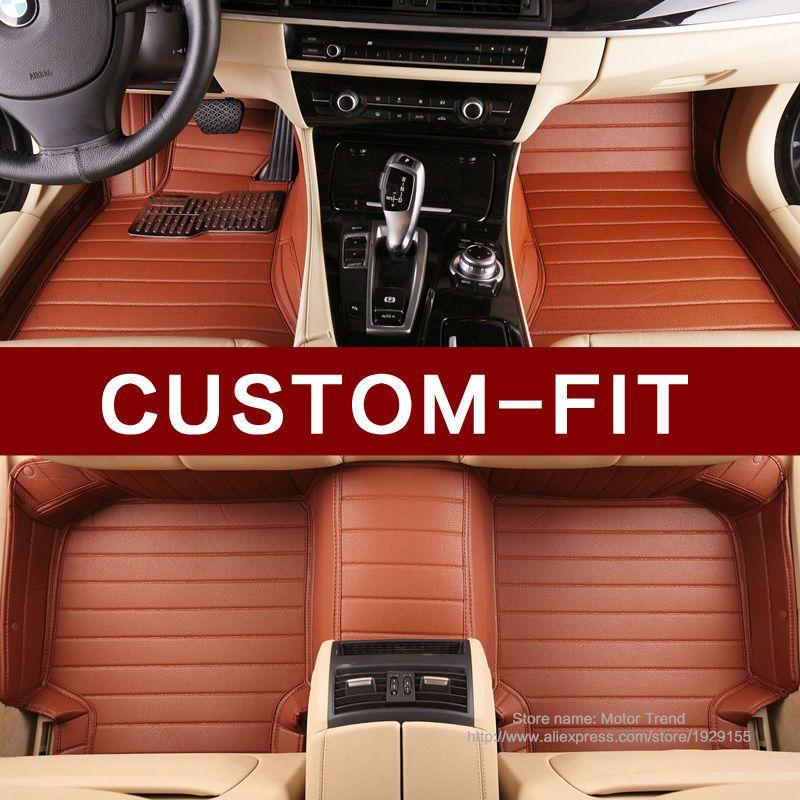 Custom fit car floor mats for Volvo S40 S60L S80L V40 V60 XC60 XC90 3D car styling heavy duty carpet floor liners
