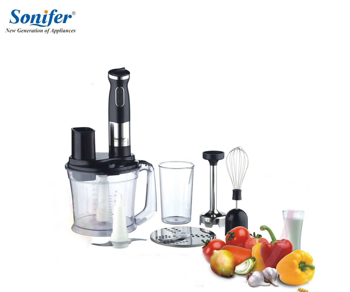 Multifunction 5 speed electric food blender mixer kitchen hand blender egg beater vegetable Meat Grinder stand blend Sonifer