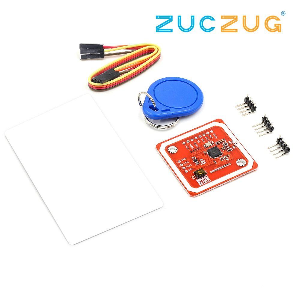 1 ensemble PN532 NFC RFID Sans Fil Module V3 Utilisateur Kits Lecteur Écrivain Mode IC S50 Carte PCB Attenna I2C IIC SPI HSU Pour Arduino