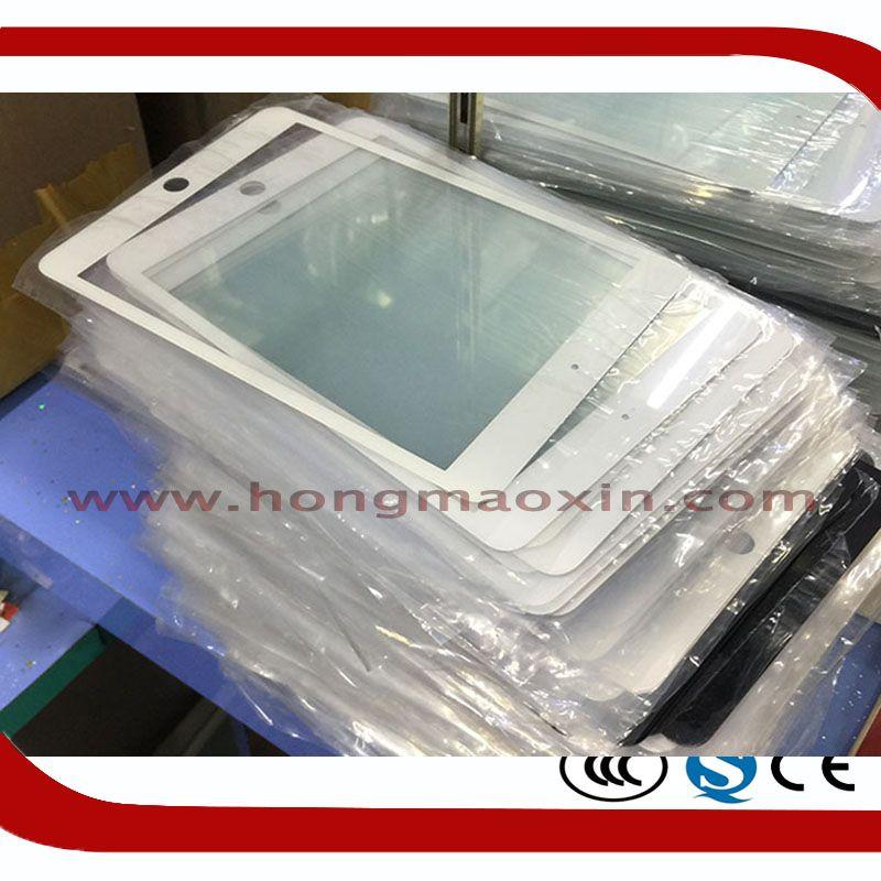 5 Teile/los Hohe Qualität Lcd-bildschirm Vorderseite Outer Glaslinse für iPad 6 Reparatur Platte