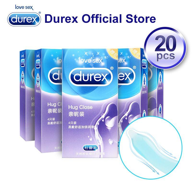 Durex préservatifs Latex naturel caoutchouc préservatif intime marchandises Contraception intimité Sex Toy produits coq pénis manchon sexe pour hommes