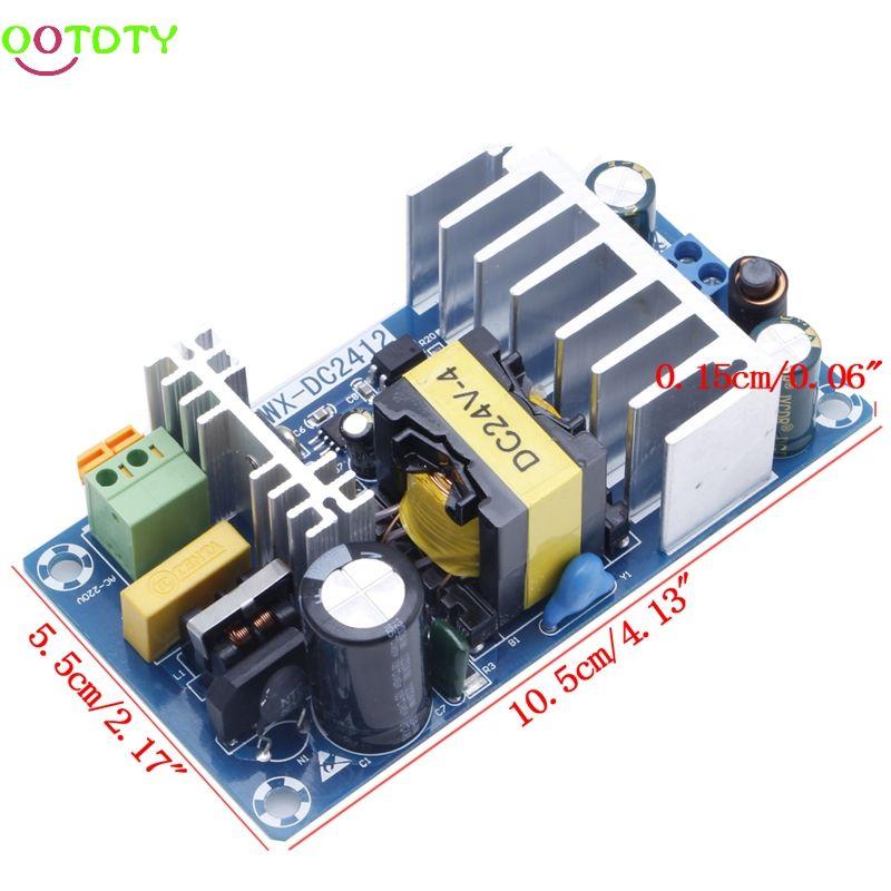 Module d'alimentation ca 110 v 220 v à DC 24 V 6A AC-DC carte d'alimentation à découpage 828 Promotion