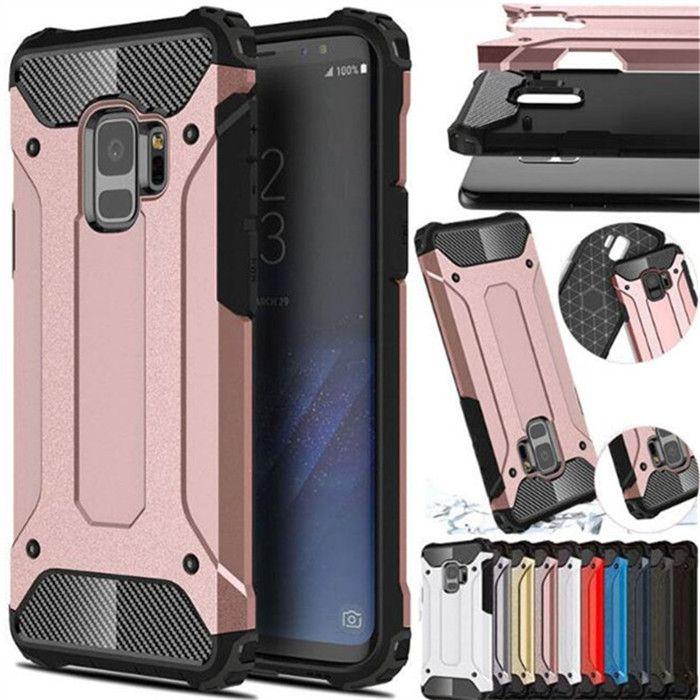 For Samsung Galaxy S5 S6 EDGE S7 S8 S9 S10 Plus S10E E Note 4 5 8 9 Hybrid Armor Cover For J4 J6 J8 A6 A8 Plus A7 A9 2018 Case