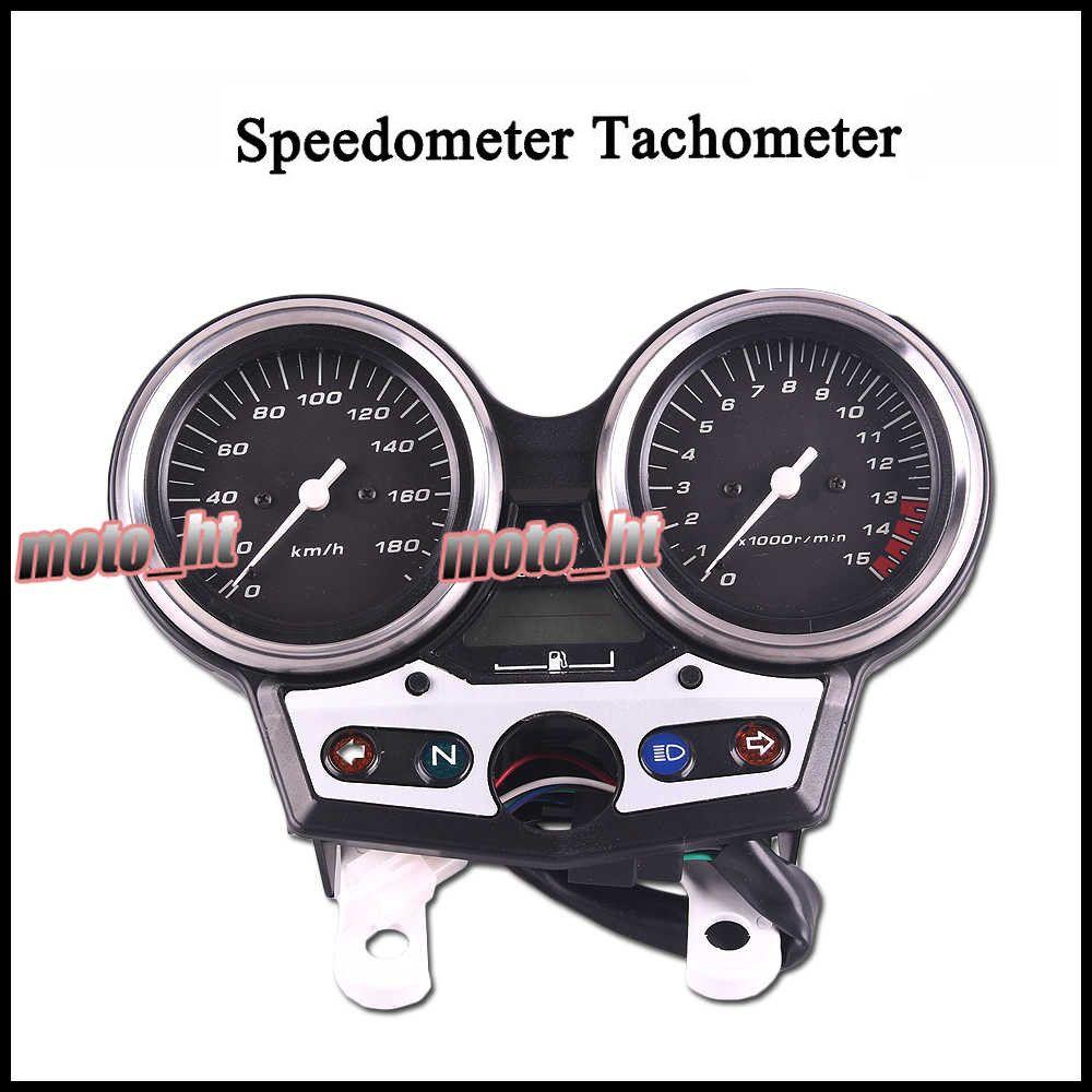 Motorbike Speedometer Tachometer Tacho Gauge Instruments For HONDA CB 400 1999 2000 2001