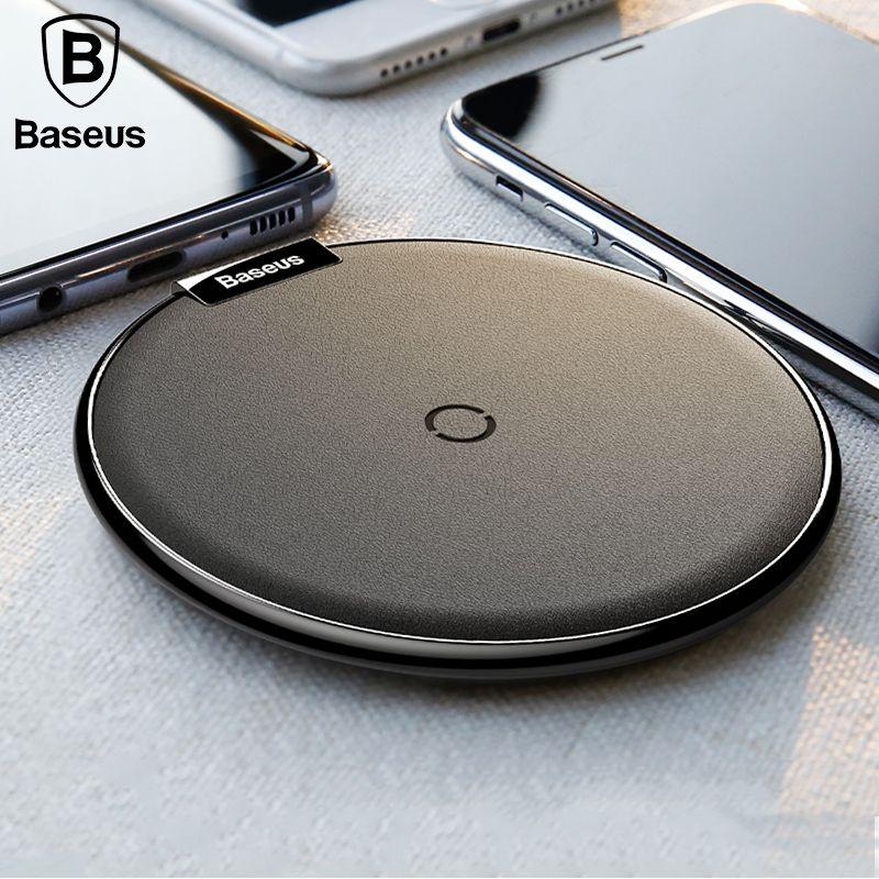 Baseus Qi Sans Fil Chargeur Pour iPhone X 8/8 P Samsung Galaxy S8 S9 S9 + Note 8 Rapide sans fil chargeur De Bureau Sans Fil De Charge Pad