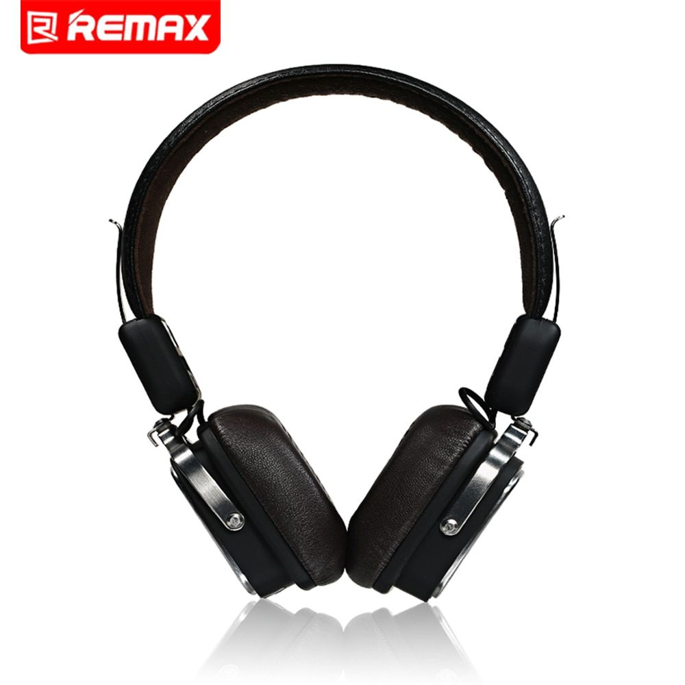 Remax Bluetooth 4.1 Wireless Headphones Music Earphone Stereo Foldable Headset Handsfree Noise Reduction For iPhone 7 Galaxy HTC