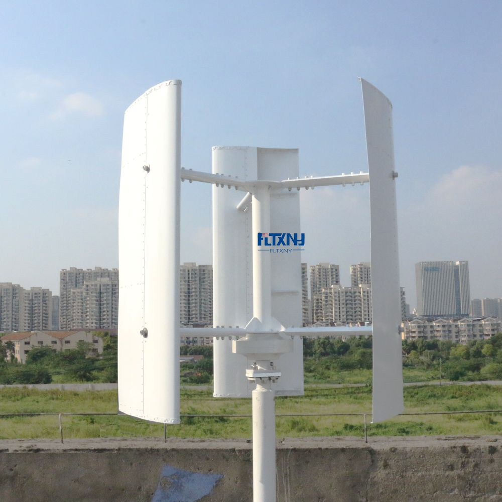 Neue Vertikale Wind Turbine Generator 600 watt 12 v 24 v 48 v 3 Phase Mit 3 klingen Entwickelt für hause oder Straßenbeleuchtung Projekte