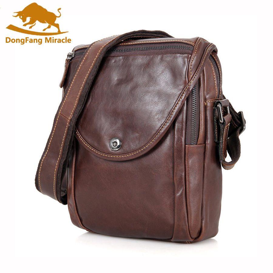 Casual Men Echtes Leder Tasche Natürliche Rindsleder Männer Messenger Bags Vintage herren Rindsleder Schulter Crossbody-tasche Klein