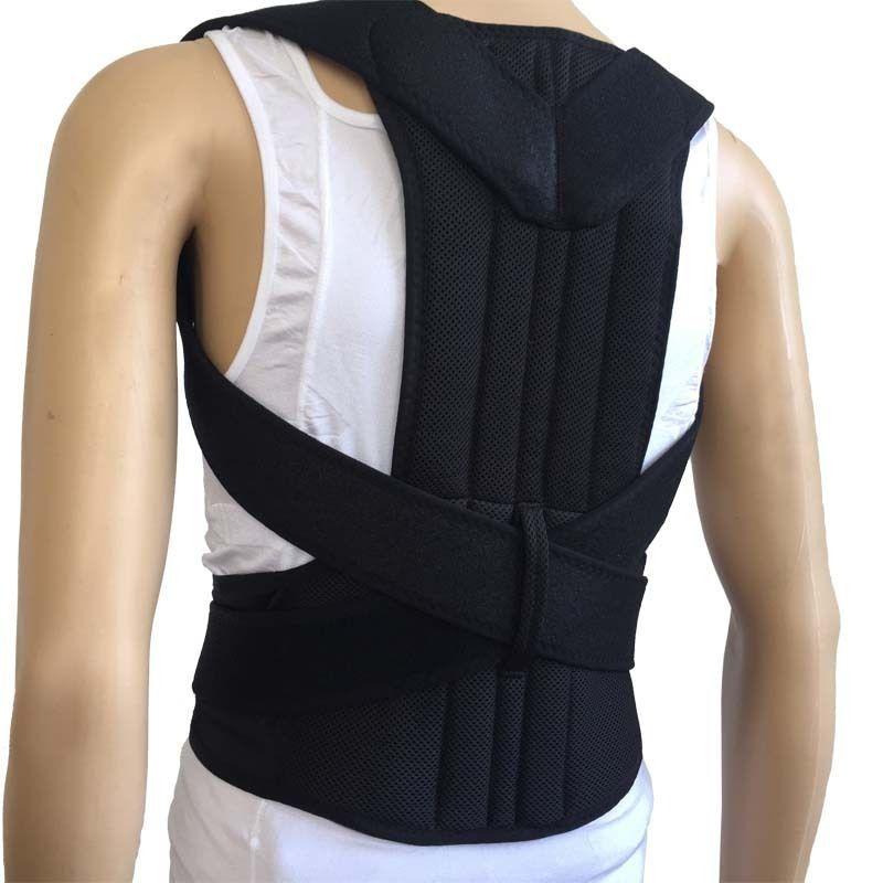 Neoprene Shoulder Support Belt Back Support Posture Correction Backs Medical Belt Lumbar High Quality Male Corsets For Back 2017