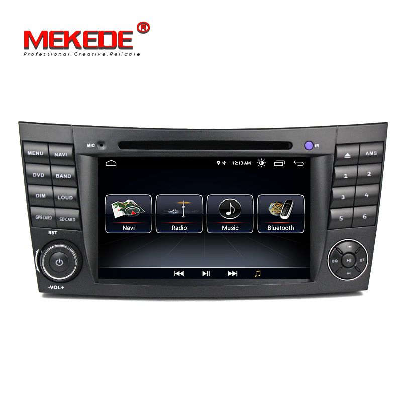 Android8.1 1024*600 hd screen car multimedia player for MERCEDES BENZ E class W211 G-Class W463 CLS W219 with GPS Radio cassette