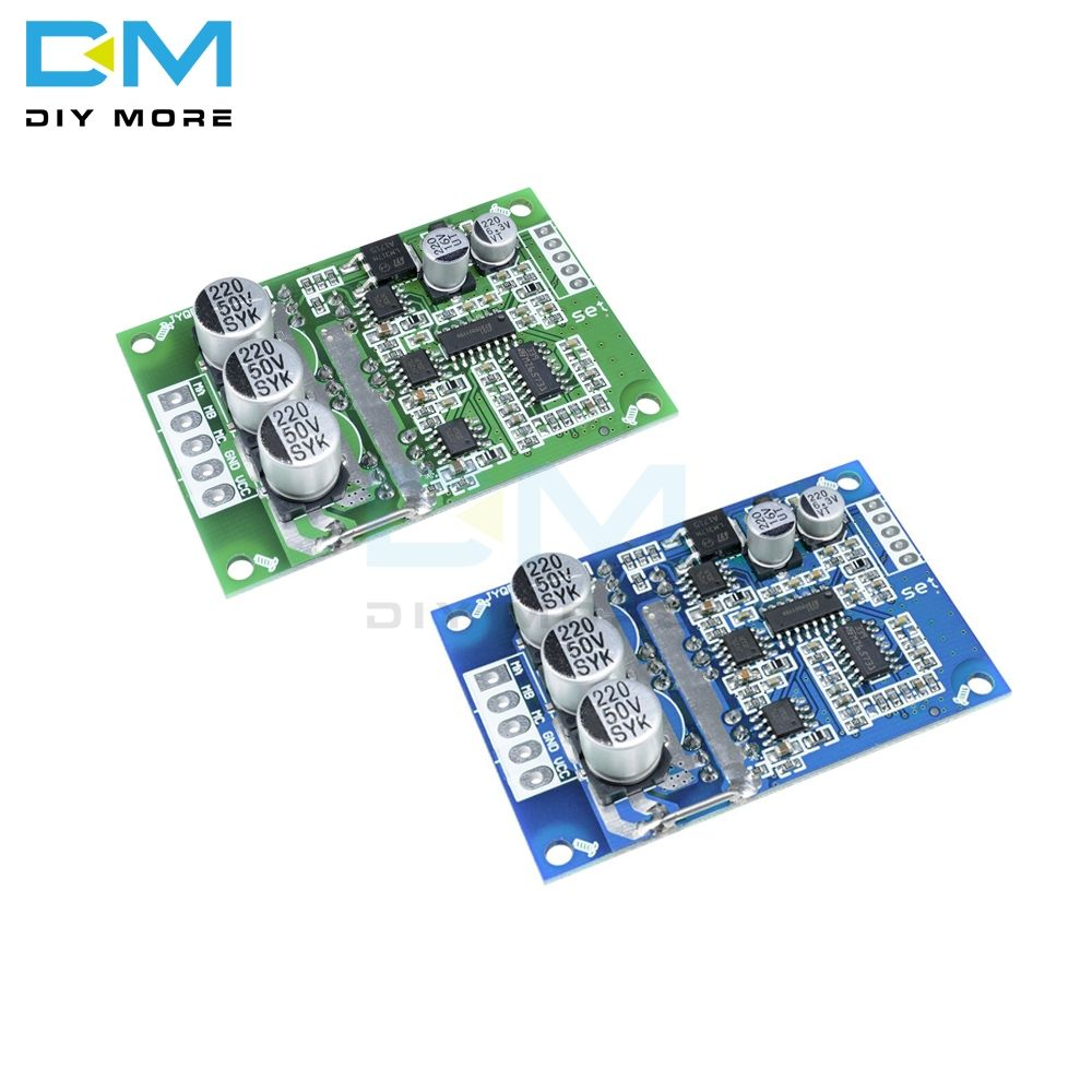 DC 12V-36V 500W PWM Brushless Motor Controller Motor Control Hall Motor Balancing Automotive Balanced BLDC Car Driver Control