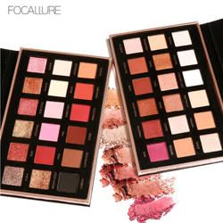Focallure Eyeshadow Big Palette 18 Warna Make Up Palet Penuh Warna Kontur Besar Palet Make Up Eyeshadow
