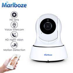 Marlboze 1080 P HD Беспроводной Wi-Fi IP Камера домашняя охранная камера видеонаблюдения ONVIF P2P IR-Cut P/T Ночное видение CCTV Крытый Камера
