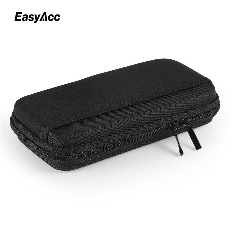Pochette de batterie externe Portable EVA pour Anker Rock PISEN Baseus 10000 mAh boîtier de batterie externe Powerbank étui de poche personnalisé
