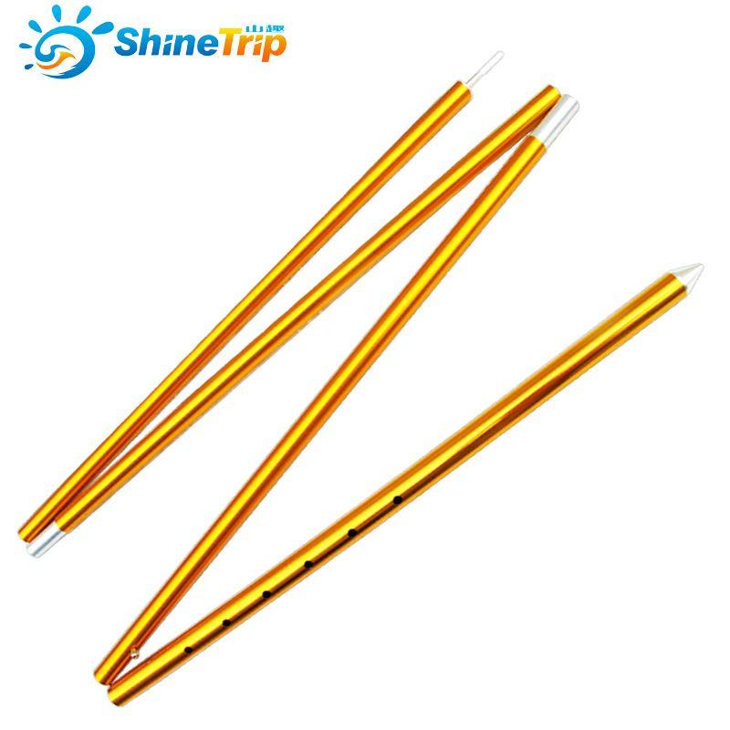 1 pc audacieux aluminium tente pôle extérieur grand parasol tente support tige 22mm/32mm d'épaisseur rétractable auvent pôle