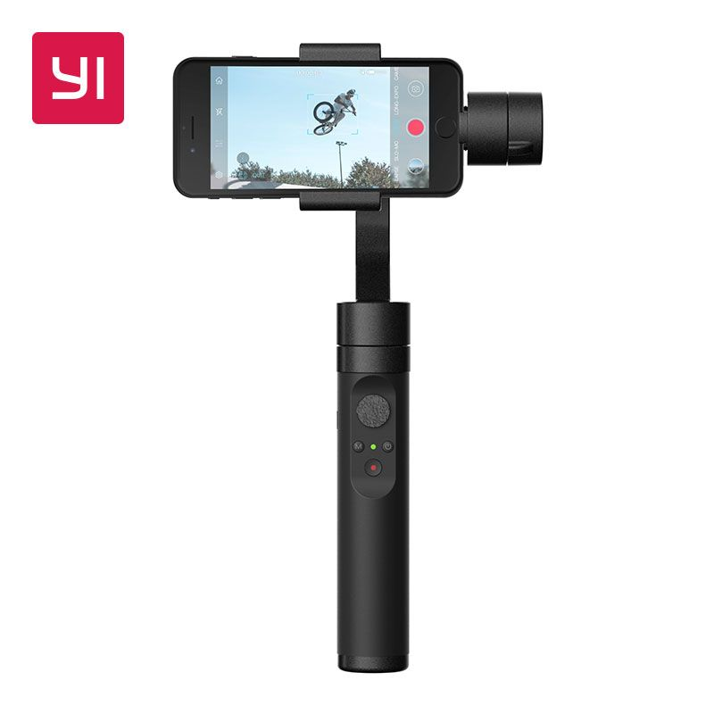 YI Handheld Gimbal 3-Axis Handheld Stabilizer for Smartphone Or YI 4K,4K Plus,YI <font><b>Lite</b></font> Action Camera