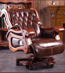 Jefe silla ejecutiva. Silla de oficina. Silla de la computadora se puede utilizar para masajear el jefe chair.021