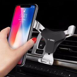 Support de Téléphone de voiture Universel Air Vent Mount Clip Holder Portable Pour Téléphone En Voiture Sans Magnétique Mobile Téléphone Stand Titulaire smartphone
