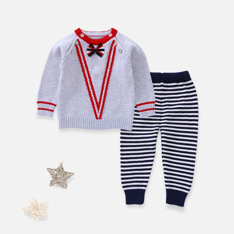 Vente chaude Garçons Vêtements Ensembles de coton Bébé MYA1-MYA8