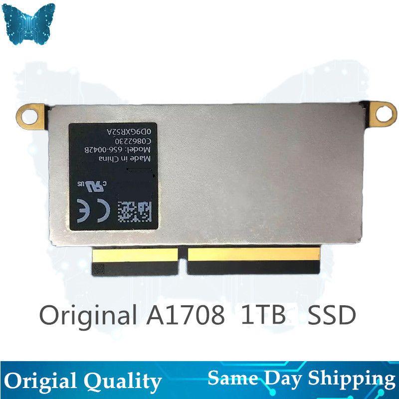 Original Laptop 656-0046B SSD für Macbook Pro Retina 1 TB A1708 Solid State Disk PCI-E EMC 3164 EMC 2978 2016 -2017