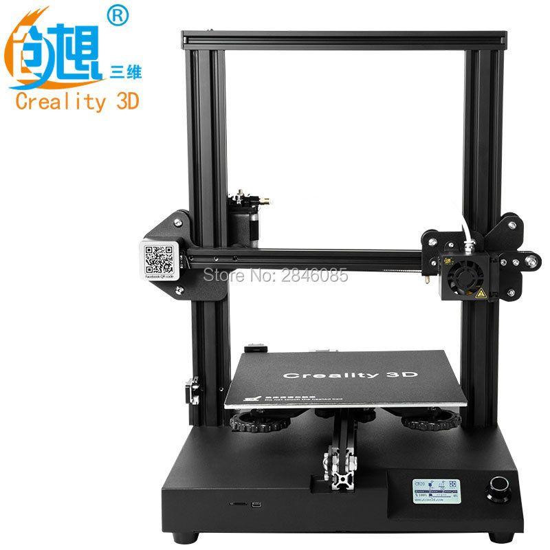 New Creality CR-20 3D Printer Resume Print MK-10 Extruder 220X220X250mm V2.1 Upgrade
