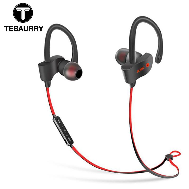 TEBAURRY S2 Bluetooth Earphone Wireless Headphone Bluetooth Headset Sport Stereo Super <font><b>Bass</b></font> Earbuds With Microphone for Running