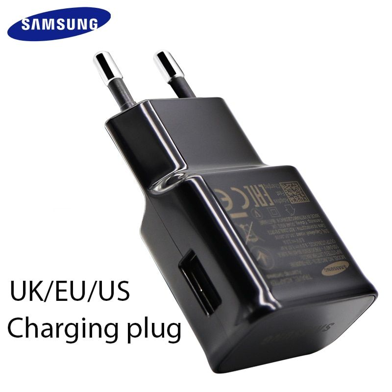 Samsung Galaxy S8 S9 plus Fast charger 2.0 Quick charge 9v 1.67a&5v2a Travel Charging adapter S 9 s6 s7edge Note 4 5 8 A 5 8 9