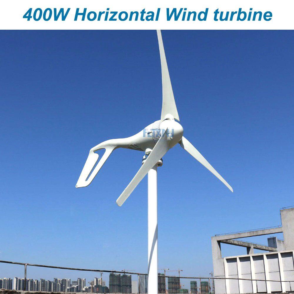 New 400W 12v 24v 48v wind generator wind turbine with 3 blades or 5 blades or home use
