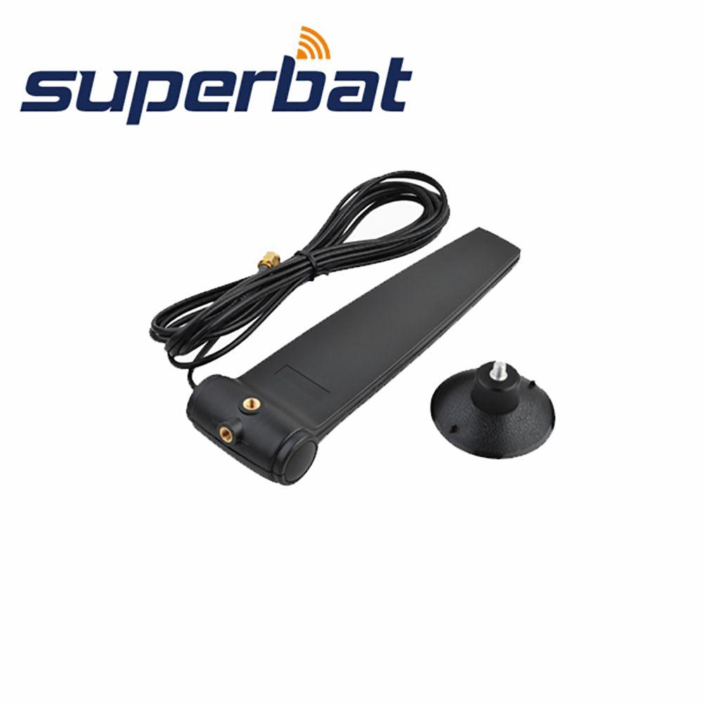 Superbat 2.4 ghz 9dBi Directionnelle WiFi Booster Antenne Sans Fil WLAN Antenne RP-SMA Fiche Mâle Connecteur 3 m Extension Câble
