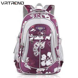VRTREND Рюкзаки для девочек младшего дети Сумки Высокогго качества Большой Размеры Школьные сумки для детей девочек Школьные рюкзаки Портфель...