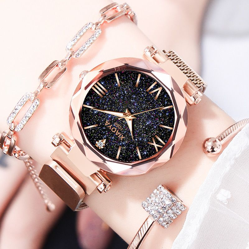 relogio feminino Luxury Women Watches Starry Sky Wristwatches for Ladies Rhinestone Quartz Watches Zegarek Damski reloj mujer