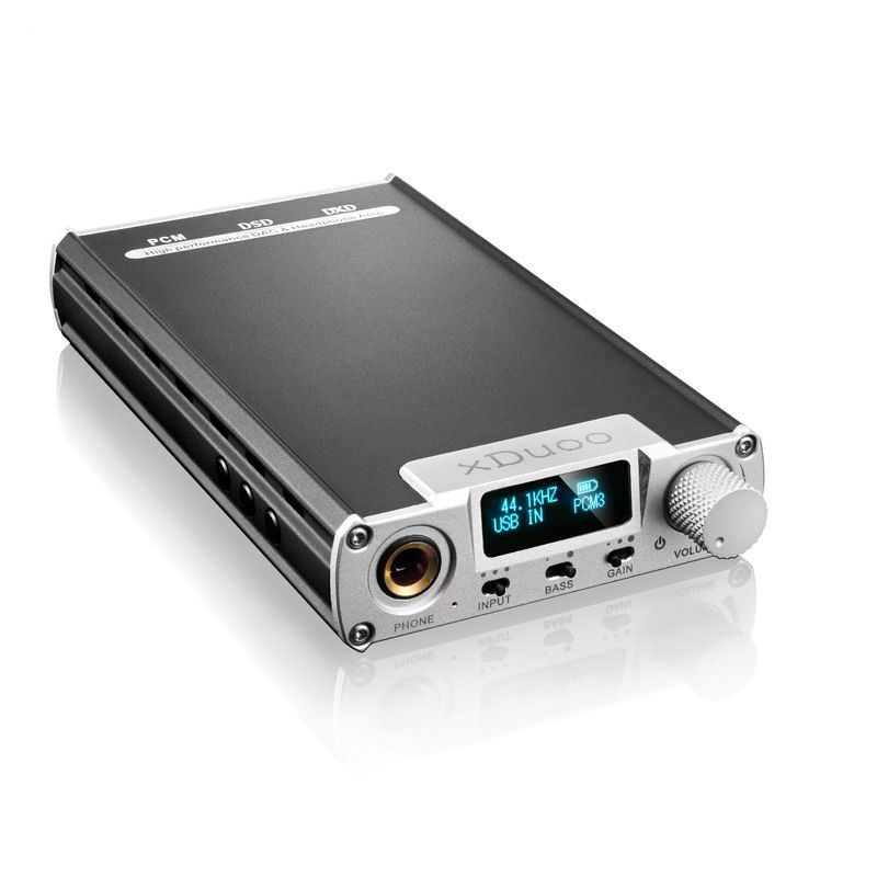 XDUOO XD-05 Portable Audio DAC & Headphone AMP 32bit/384khz Native DSD Decoding DSD256 PCM 384KHZ DXD 384KHZ with OLED display