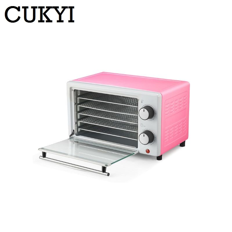 CUKYI Dried Food dehydrator fruits vegetable dehydration Drying machine Stainless Steel 5 Trays MINI Snack pet meat Herbs Dryer