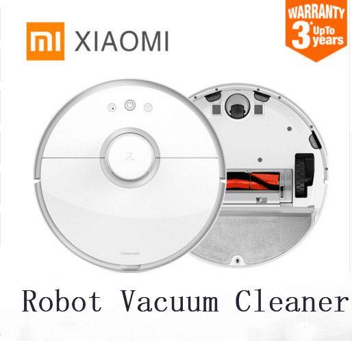 XIAOMI 2nd generation robot Roborock s50 s51 robot vacuum cleaner WIFI APP Control Wet drag mop Smart Planned with water tank