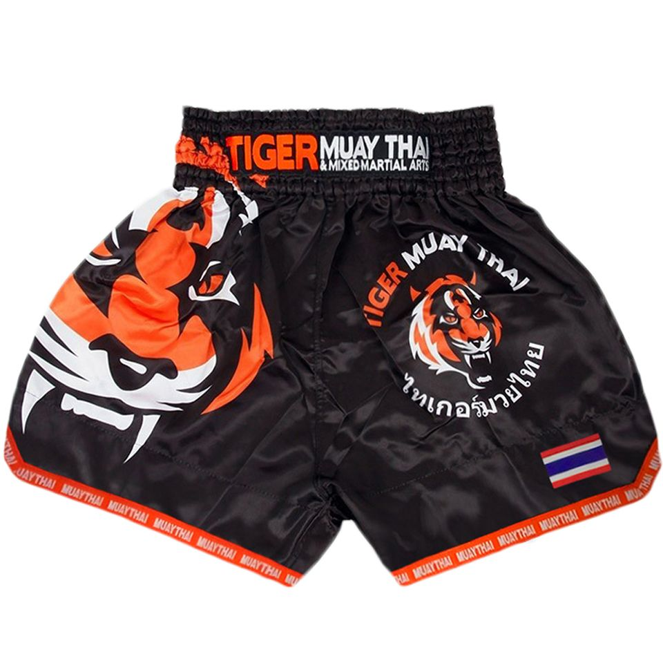 MMA Tiger Muay Thai boxing boxing match Sanda training breathable shorts muay thai clothing boxing Tiger Muay Thai mma