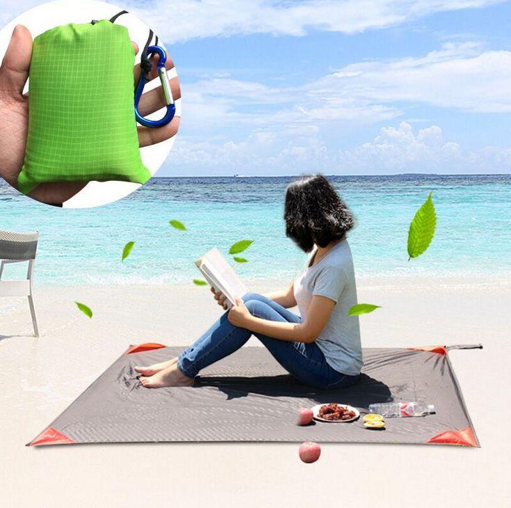 Tragbare ultra-thin folding tasche decke camping Wasserdicht matratze outdoor-reisen angeln strandmatte yogamatte 110*140 cm