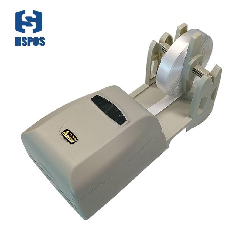 Thermotransfer-etikettendrucker waschen etikettendruck lösung mit papierhalter band und seide kleidung label einfach für druck