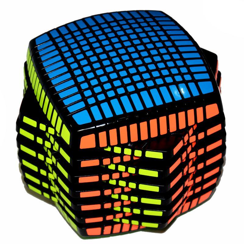 Moyu 13 Schichten 13x13x13 Cube Geschwindigkeit Magic Cube Puzzle Pädagogisches Spielzeug 136mm Runde Form Begrenzte Version magico Spielzeug