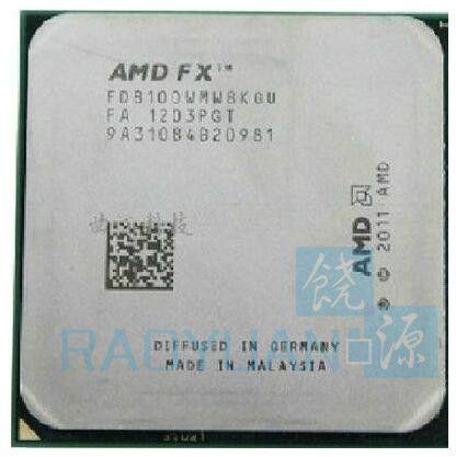 AMD FX-Serie FX-8100 FX 8100 2,8 GHz Acht-Core CPU Prozessor FX8100 FD8100WMW8KGU Sockel AM3 +