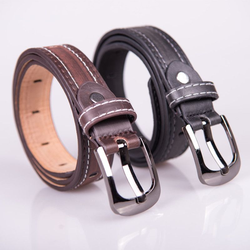 Enfant formelle robe garçons adolescente ceinture chaude designer enfants PU en cuir de mode élastique ceinture boucle noir Loisirs sangle Casual Ceinture