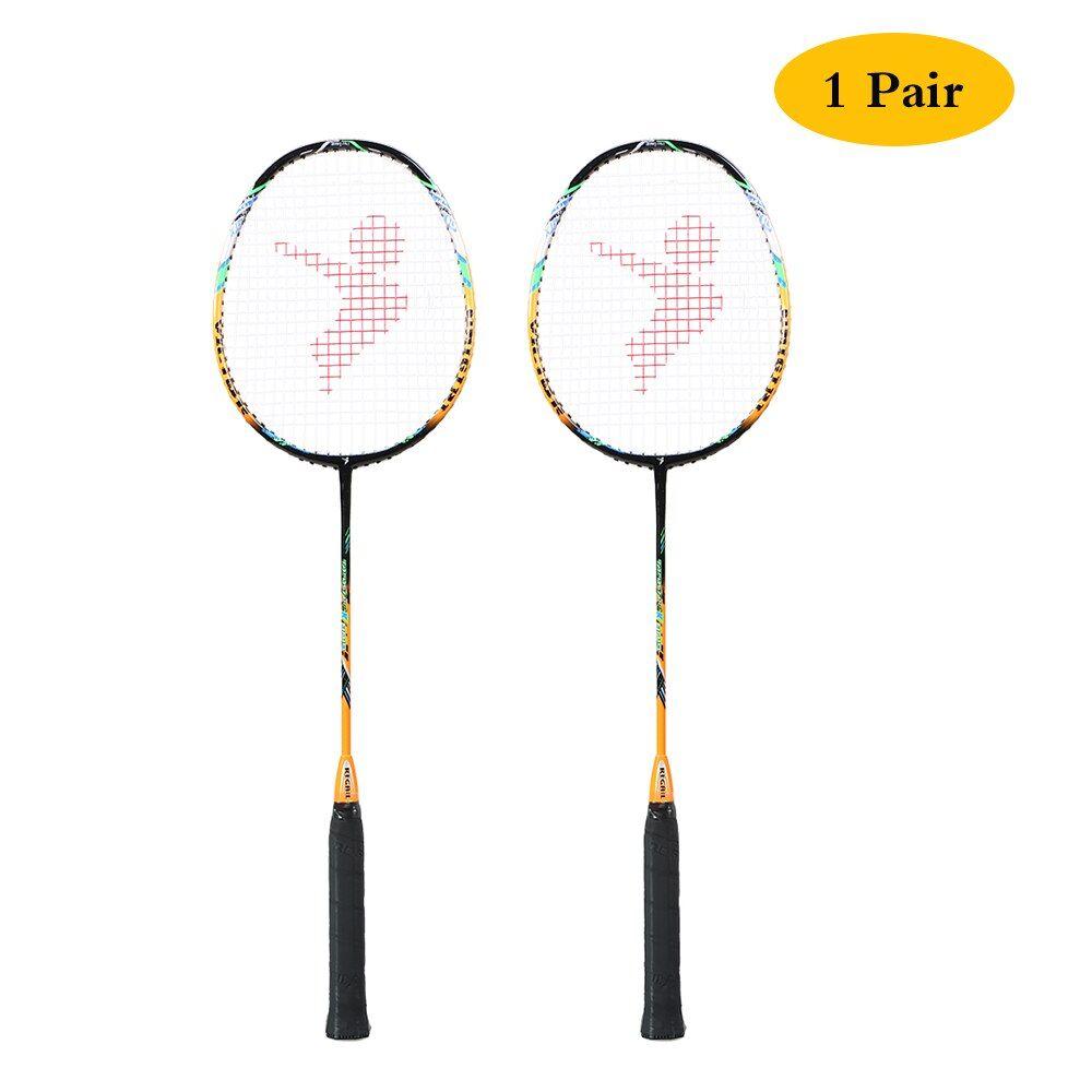 Professionelle 2 Player Badminton Bat Ersatz Set Ultraleicht Carbon Faser Badminton Schläger mit Badminton Tasche Raket badminton