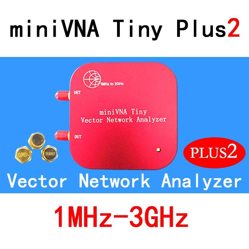 1 mt-3 ghz Vector Network Analyzer miniVNA Tiny Plus2 VHF/UHF/NFC/RFID RF Antenne analysator Signal Generator SWR/S-Parameter/Smith
