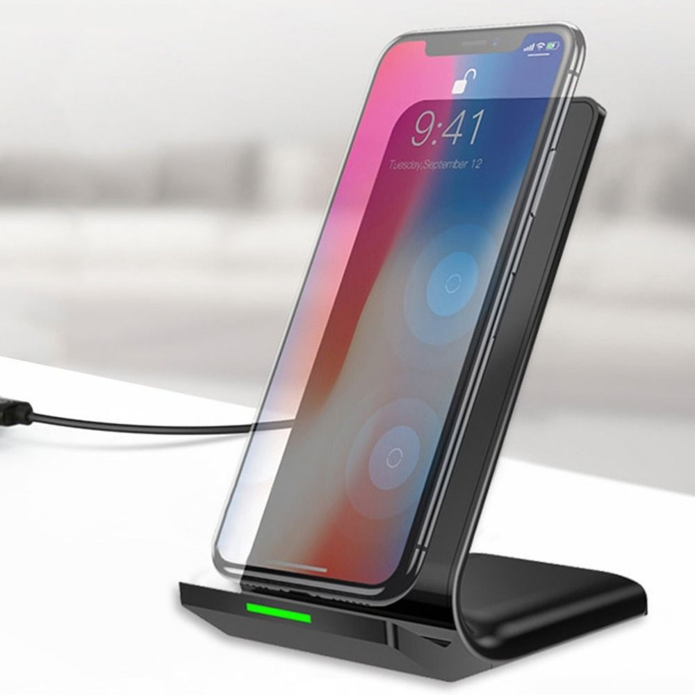 Qi Wireless Charger USB Charge Pad For iPhone 8 Fast Wireless Charging Docking Dock Station for apple 8 Mobile Phone Desktop