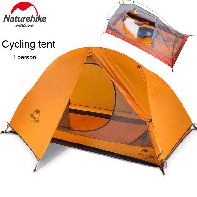 DHL freeshipping 1.5KG naturehike ultralight tent 1 person outdoor camping hiking waterproof tents Single carpas plegables tenda